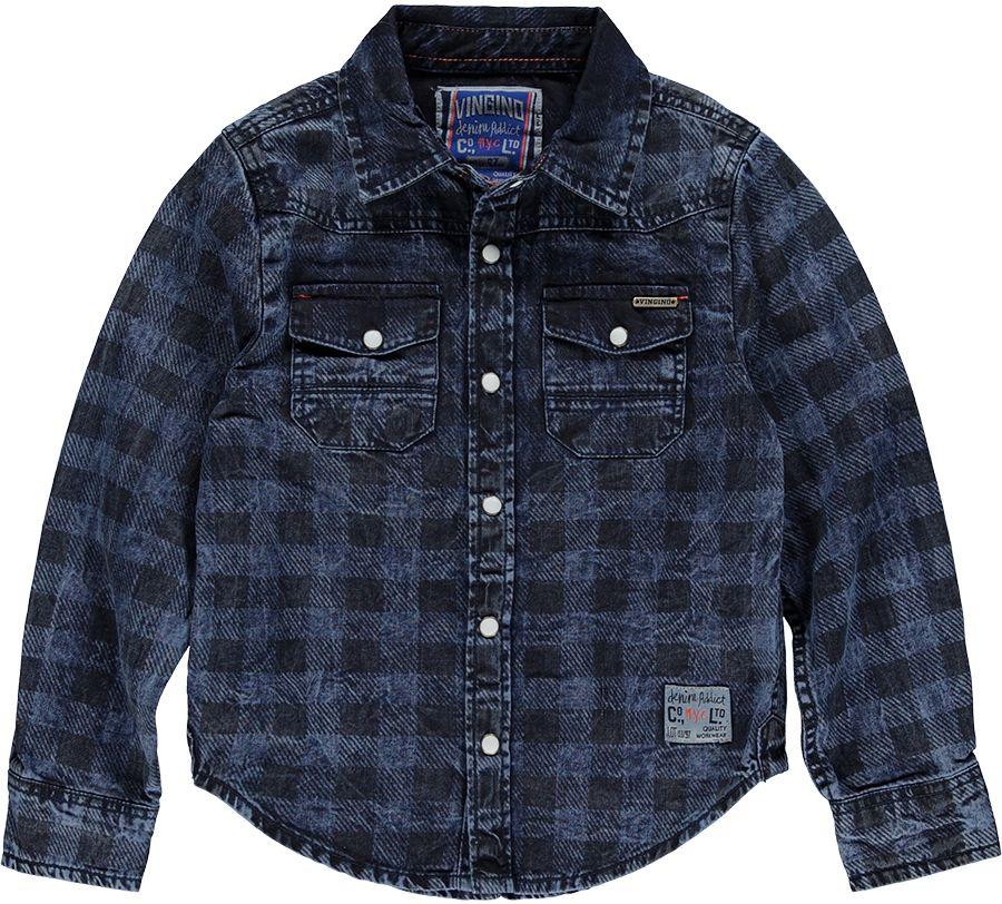 Vingino Overhemd Denim jongens 14040