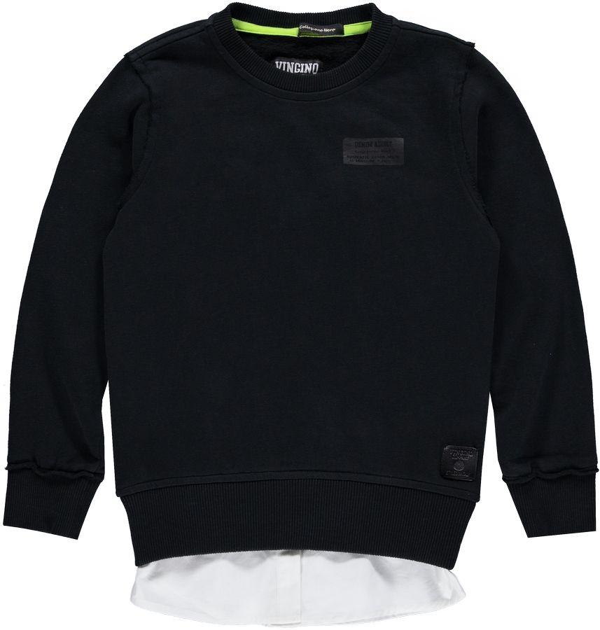 Vingino Sweater Zwart jongens 80