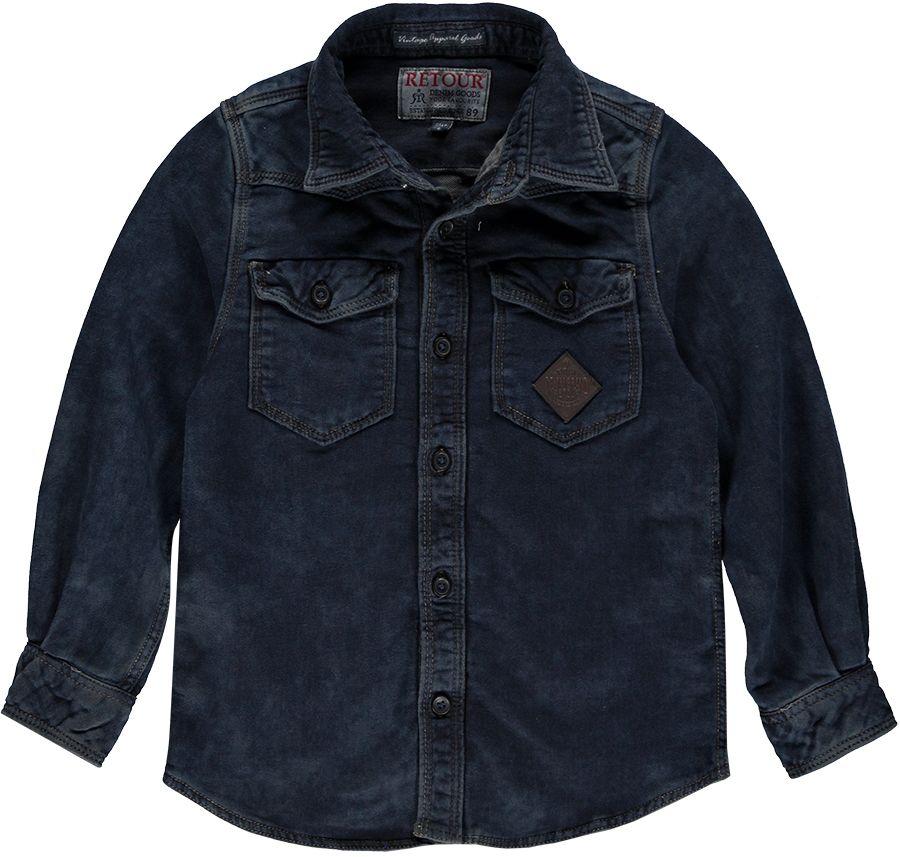 Retour Overhemd Denim jongens 11941