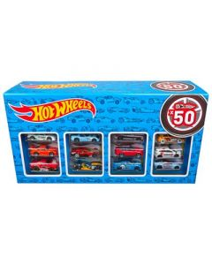 MATTEL Hot Wheels Diecast Set met 50 Auto's