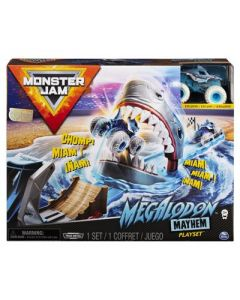 SPINMASTER Monster Jam Megalodon Playset With Truck 1:64