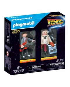 PLAYMOBIL Playmobil 70459 DuoPack Marty McFly & Dr. Emmet Brown