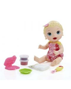 HASBRO Baby Alive Snackin Lily Blond