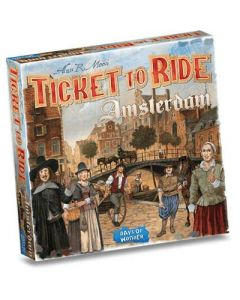 ASMODEE Spel Ticket To Ride Amsterdam