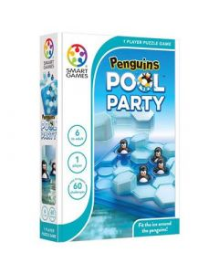 SMARTGAMES Spel Smartgames Penguins Pool Party