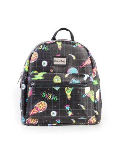 Rick and Morty - All Over Sublimation Printed Ladies Backpack