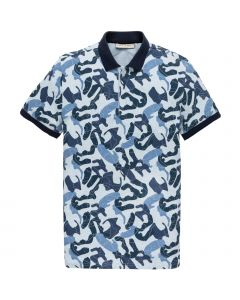 MEN9064 Cast Iron  Short sleeve polo jersey pique