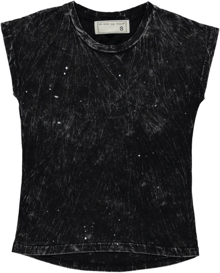 Circle Of Trust Shirt Zwart meisjes 11699