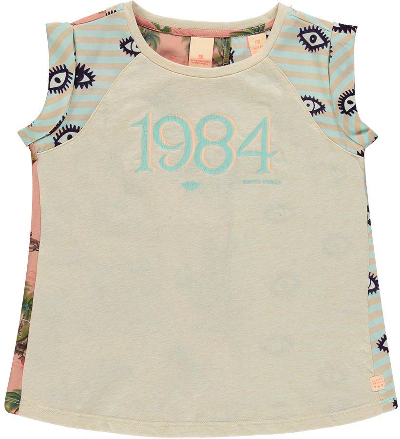 Scotch R'Belle Shirt Roze meisjes 13182