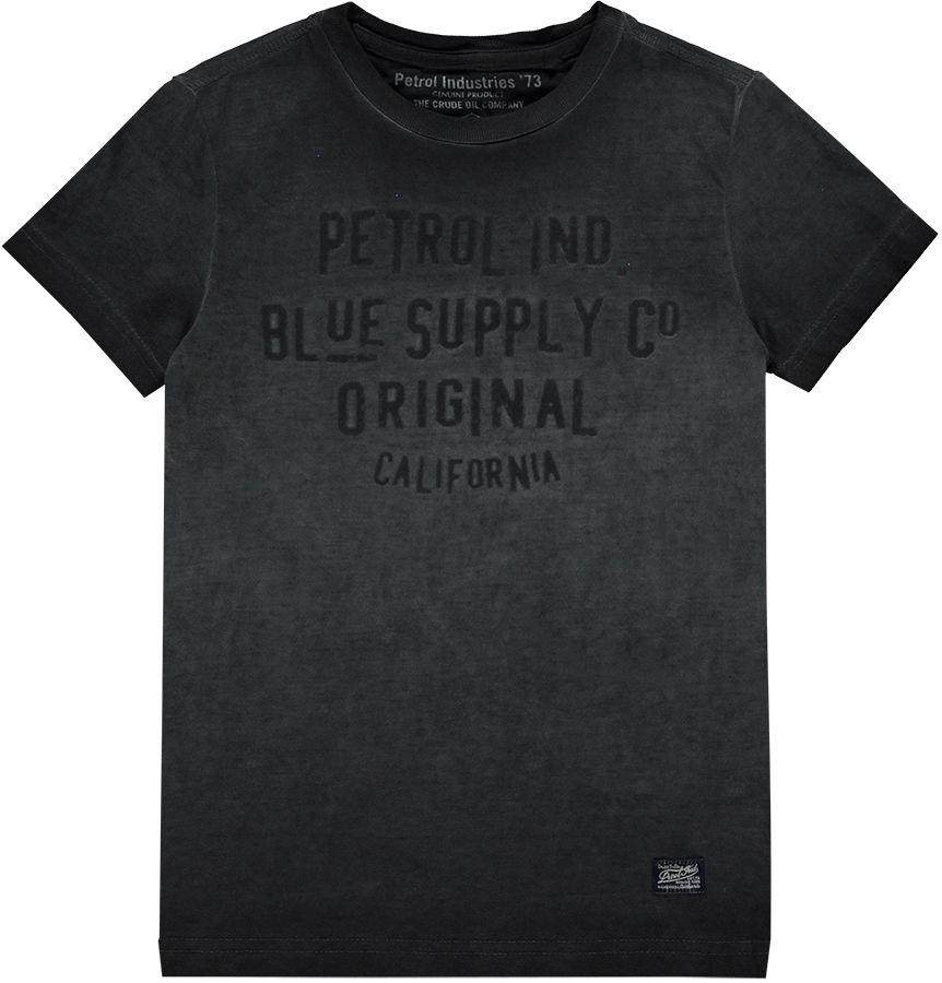 Petrol Shirt Grijs jongens 15066