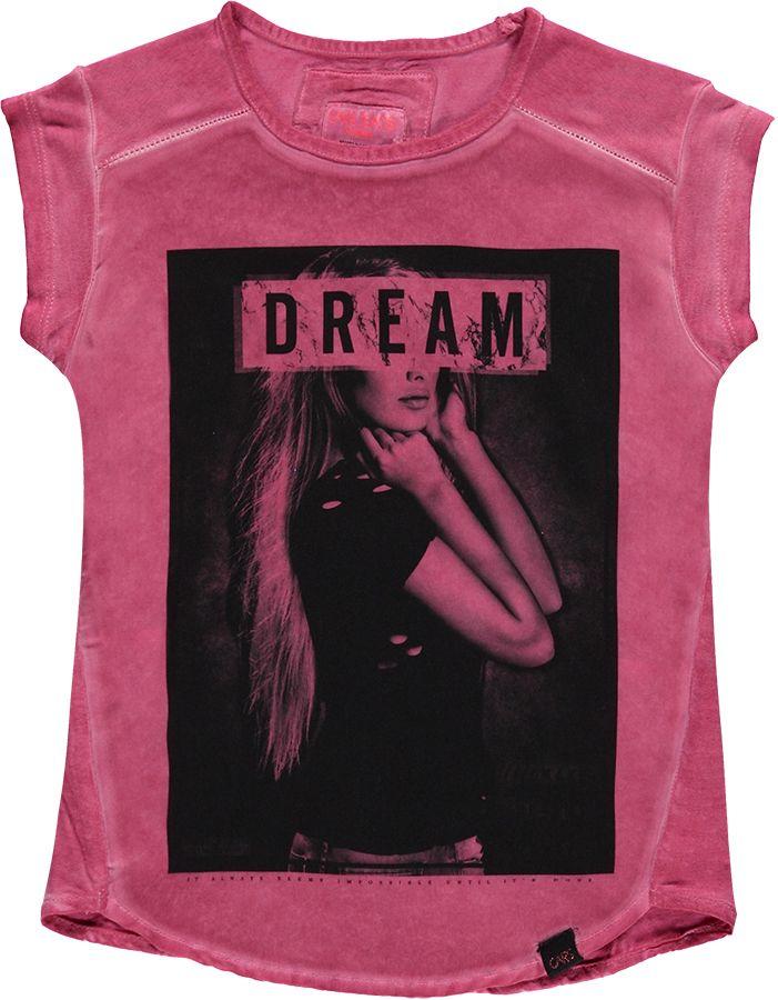 Cars Shirt Roze meisjes 6962